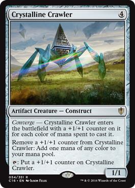 《水晶の這行器/Crystalline Crawler》[C16] 茶R