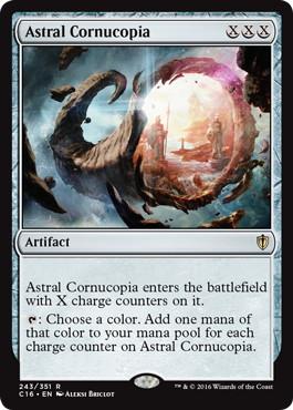 《霊体のヤギ角/Astral Cornucopia》[C16] 茶R