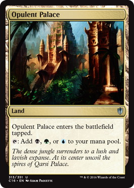 《華やかな宮殿/Opulent Palace》[C16] 土地U
