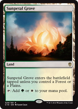 《陽花弁の木立ち/Sunpetal Grove》[C16] 土地R