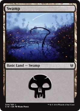 《沼/Swamp》[C16] 土地 (344)