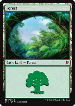 《森/Forest》[C16] 土地 (350)