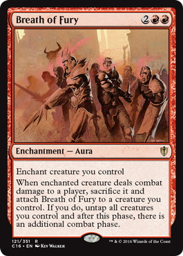 《憤怒の息吹/Breath of Fury》[C16] 赤R