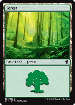 《森/Forest》[C17] 土地 (309)