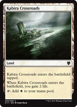 《カビーラの交差路/Kabira Crossroads》[C17] 土地C