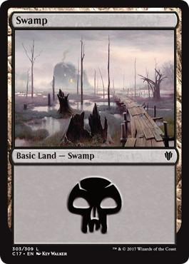 《沼/Swamp》[C17] 土地 (303)