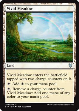 《鮮烈な草地/Vivid Meadow》[C17] 土地U
