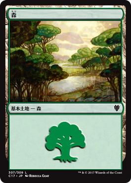 《森/Forest》[C17] 土地 (307)