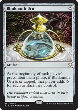 《ちらつき蛾の甕/Blinkmoth Urn》[C18] 茶R