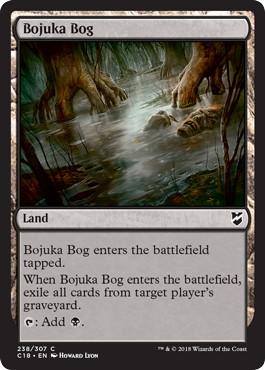 《ボジューカの沼/Bojuka Bog》[C18] 土地C