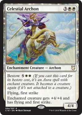 《天界の執政官/Celestial Archon》[C18] 白R