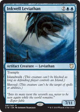 《墨溜まりのリバイアサン/Inkwell Leviathan》[C18] 青R
