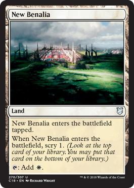 《新ベナリア/New Benalia》[C18] 土地U