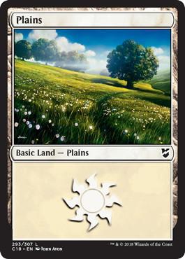 《平地/Plains》[C18] 土地 (293)