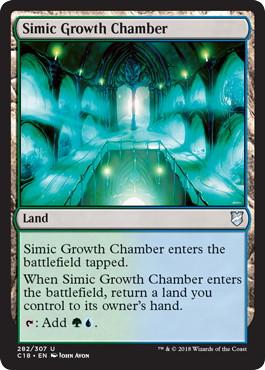 《シミックの成長室/Simic Growth Chamber》[C18] 土地U