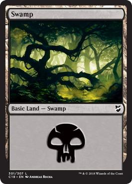 《沼/Swamp》[C18] 土地 (301)