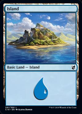 《島/Island》(291)[C19]土地