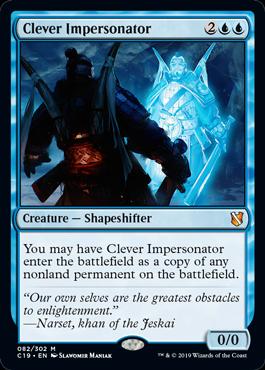 《賢いなりすまし/Clever Impersonator》[C19]青R