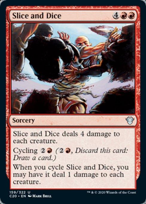 《めった切り/Slice and Dice》[C20] 赤U
