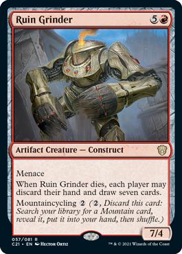 《遺跡掘削機/Ruin Grinder》[C21] 赤R
