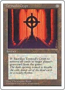 《トーモッドの墓所/Tormod's Crypt》[CHR] 茶C
