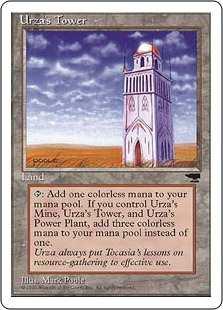 《ウルザの塔/Urza's Tower》B Plains[CHR] 土地U