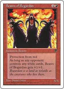 《ボガーダンの獣/Beasts of Bogardan》[CHR] 赤U