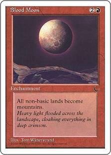 《血染めの月/Blood Moon》[CHR] 赤R