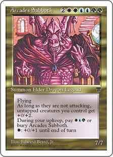 《アルカデス・サボス/Arcades Sabboth》[CHR] 金R