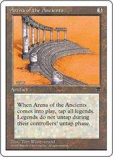 《古き者どもの闘技場/Arena of the Ancients》[CHR] 茶R