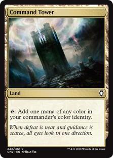 《統率の塔/Command Tower》[CM2] 土地C