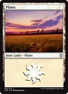 《平地/Plains》[CM2] 土地 (283)