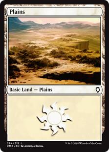 《平地/Plains》[CM2] 土地 (284)