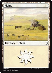 《平地/Plains》[CM2] 土地 (285)