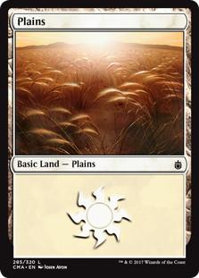 《平地/Plains》[CMA17] 土地 (285)