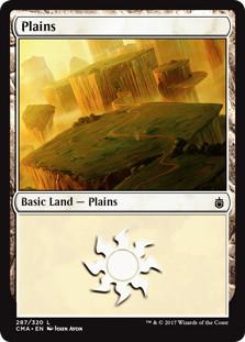 《平地/Plains》[CMA17] 土地 (287)