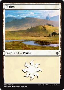 《平地/Plains》[CMA17] 土地 (288)
