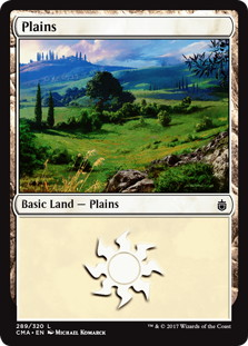 《平地/Plains》[CMA17] 土地 (289)