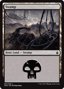 《沼/Swamp》[CMA17] 土地 (297)