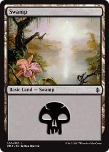 《沼/Swamp》[CMA17] 土地 (300)