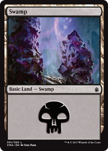 《沼/Swamp》[CMA17] 土地 (301)