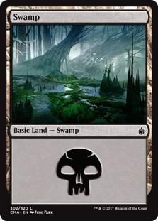 《沼/Swamp》[CMA17] 土地 (302)