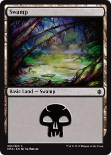 《沼/Swamp》[CMA17] 土地 (303)