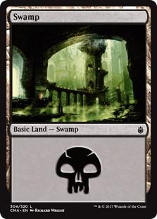 《沼/Swamp》[CMA17] 土地 (304)
