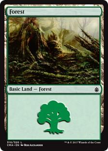 《森/Forest》[CMA17] 土地 (310)