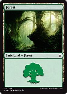 《森/Forest》[CMA17] 土地 (314)