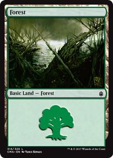 《森/Forest》[CMA17] 土地 (315)