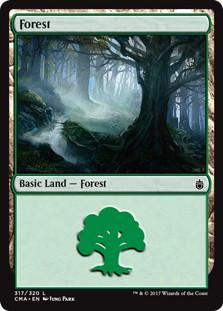 《森/Forest》[CMA17] 土地 (317)