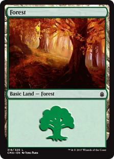 《森/Forest》[CMA17] 土地 (318)