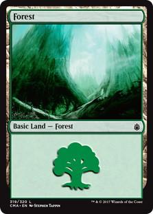 《森/Forest》[CMA17] 土地 (319)